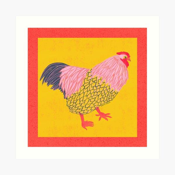 Chicken Life Art Print