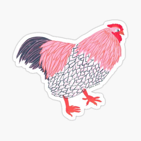 Chicken Life Sticker