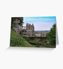 Castillo de Windsor...........................................Londres. Greeting Card