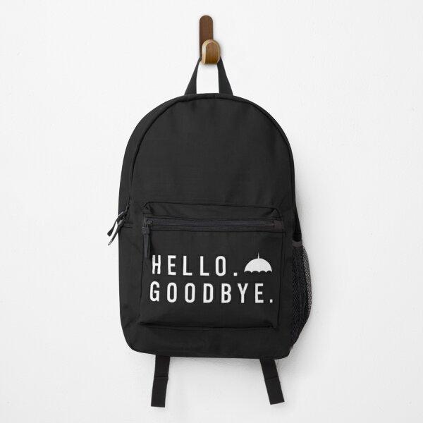 Hola adiós - The Umbrella Academy Mochila