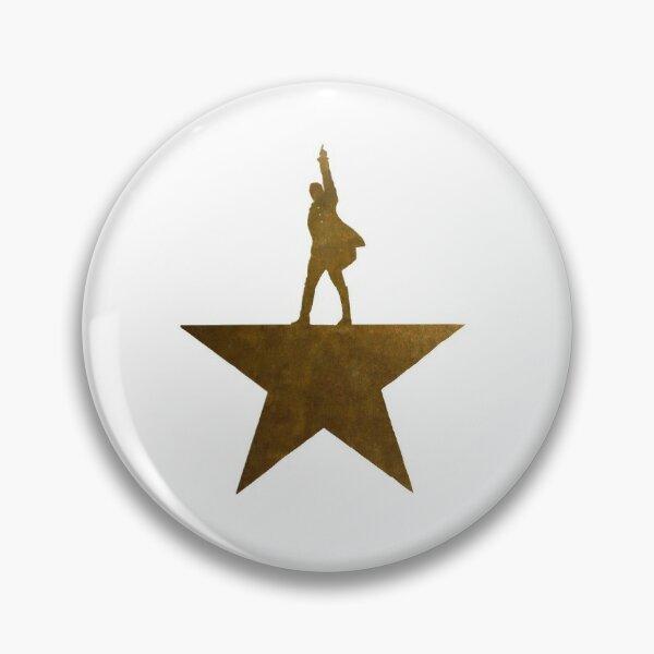 Golden Hamilton Star Badge
