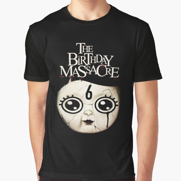NOT The Birthday Massacre Looking Glass Womens Short Sleeves Crop Top Tee Shirts Tshirt