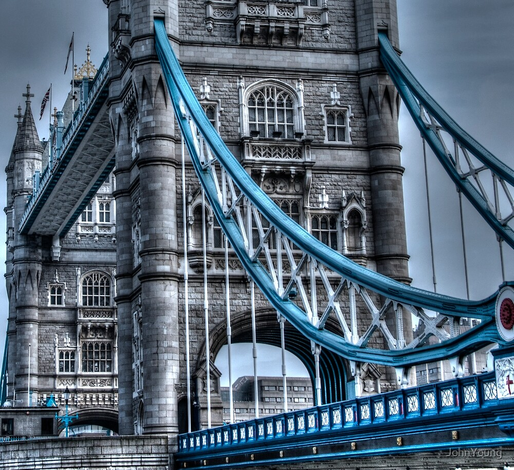 Tower Bridge Towering and Toned by JohnYoung