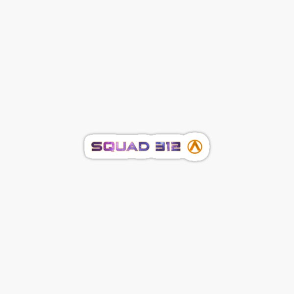 Squad 312 | Aurora Rising Sticker