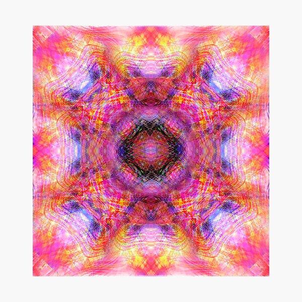 Kaleidoscope # 0004 Photographic Print