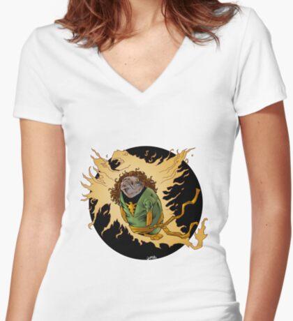 Phoenix Manatee SALE! Women's Fitted V-Neck T-Shirt