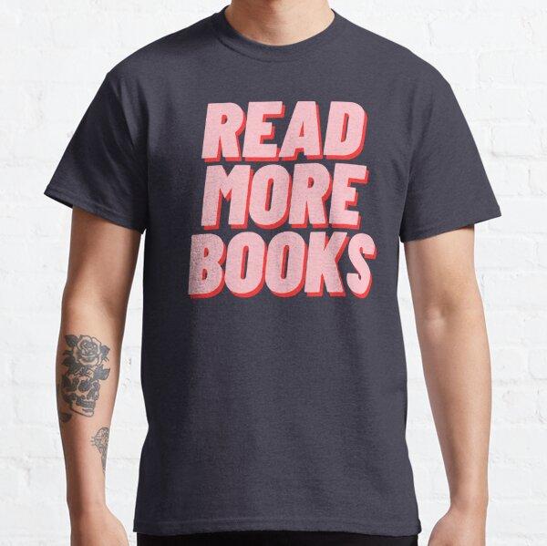 LIS PLUS DE LIVRES T-shirt classique