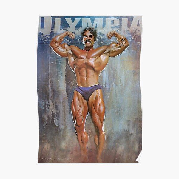 Mike Mentzer Mr Universe Bodybuilding Art Poster