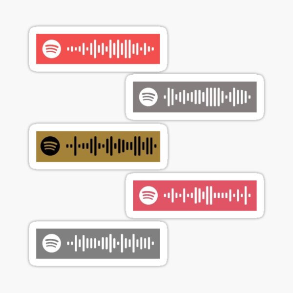 Hillsong Worship Spotify Song Codes Sticker