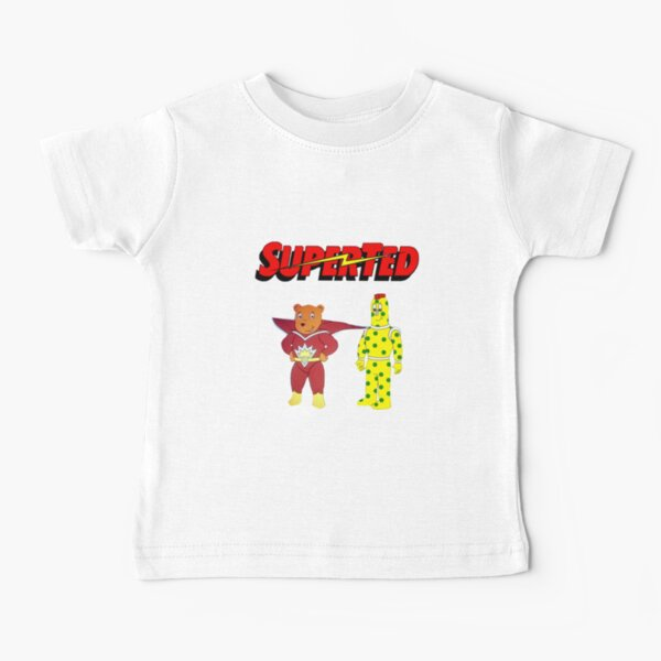 Superted and Spotty Cartoon  Baby T-Shirt