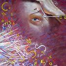 'My Migraine' - Self-Portrait  by Lynda Robinson