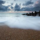 Sunrise on Eastbourne seafront by willgudgeon