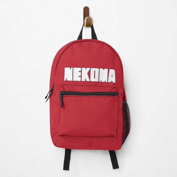 Nekoma Jersey Logo Uniform Shirt Design (Big Logo) Backpack