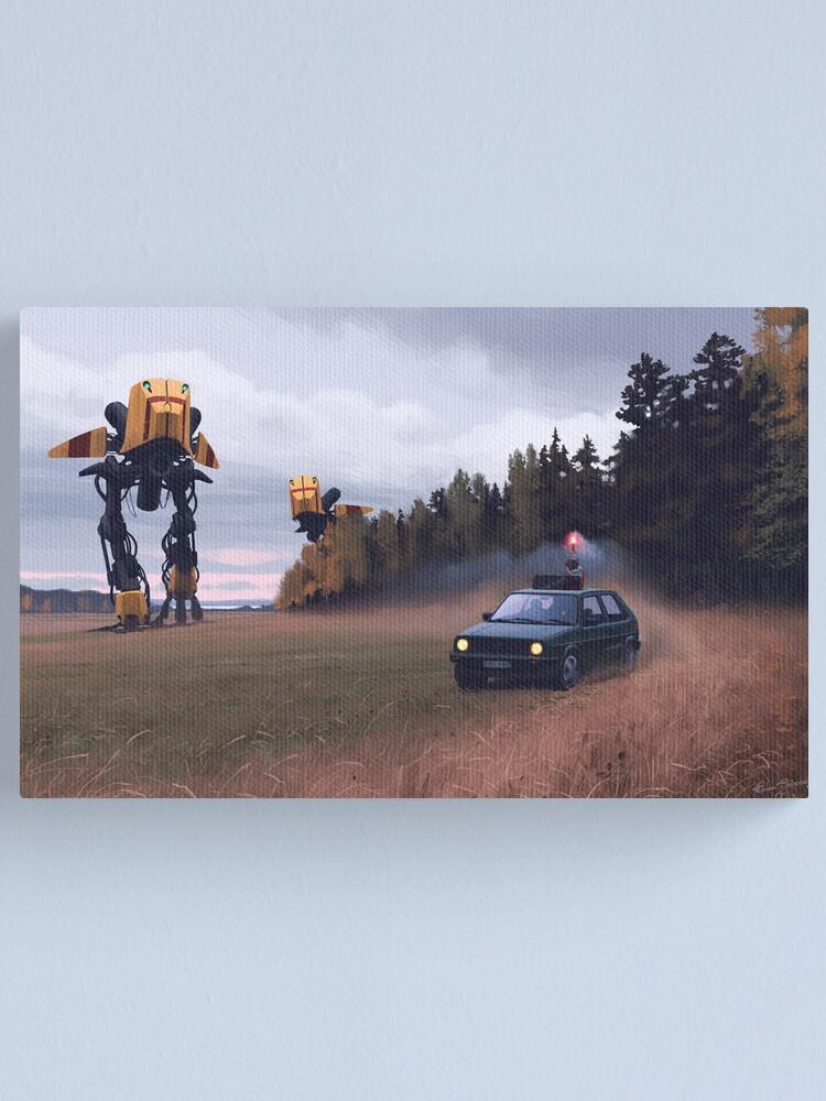 Alternate view of Decoy Canvas Print