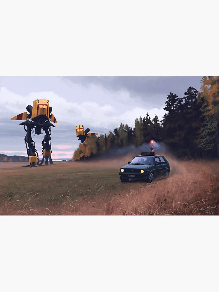 Decoy by simonstalenhag