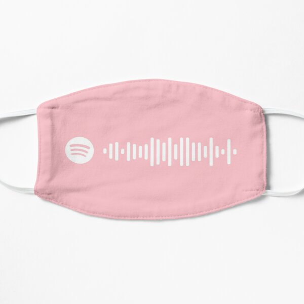 Dancing Queen by Meryl Streep from Mamma Mia Soundtrack Pink Spotify Code (MORE COLORS AVAILABLE IN SHOP) Mask