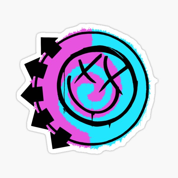 Blink 182 Logo Sticker