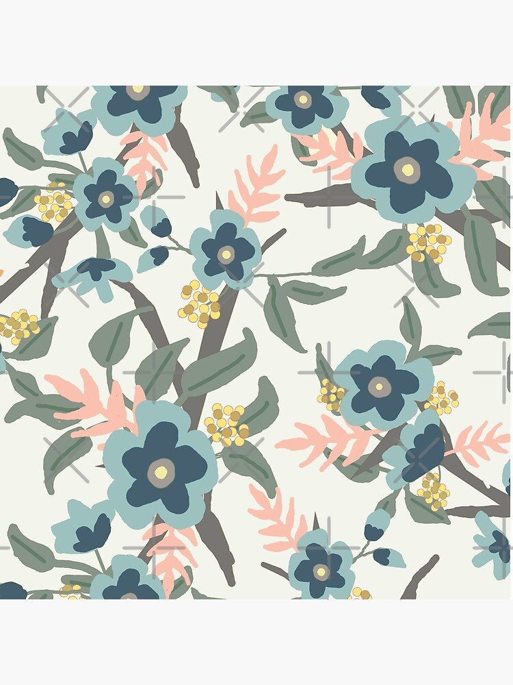 Floral Pattern by loveperiwinkle