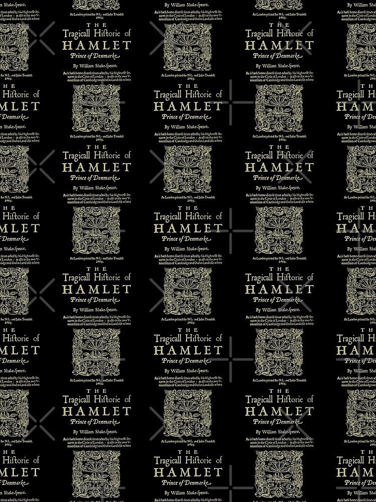 Shakespeare, Hamlet. Versión de ropa oscura de bibliotee