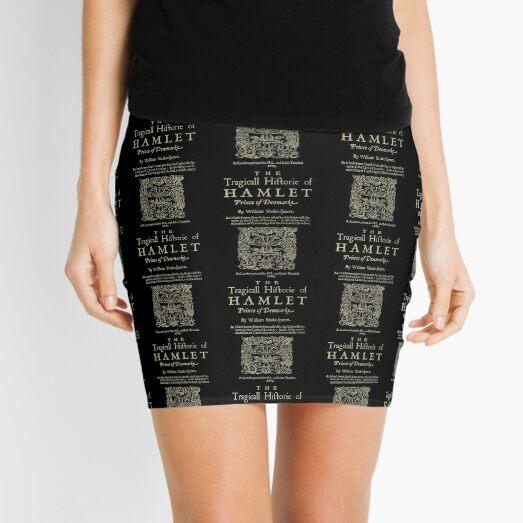 Shakespeare, Hamlet. Versión de ropa oscura Minifalda