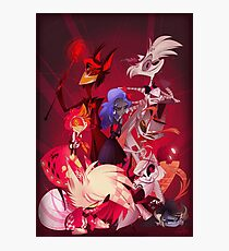 (Original) Hazbin Hotel Cast Photographic Print