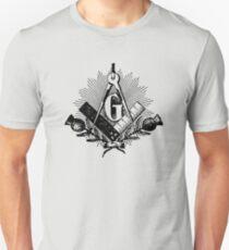 Masonic symbol, squaring the circle, freemason T-Shirt