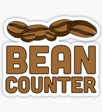 Bean Counter Sticker