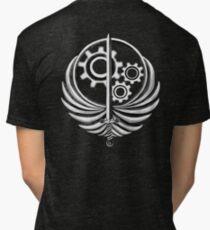 Brotherhood of Steel Emblem Dark Tri-blend T-Shirt