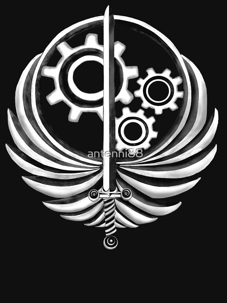 Brotherhood of Steel Emblem Dark | Hoodie (Zipper)