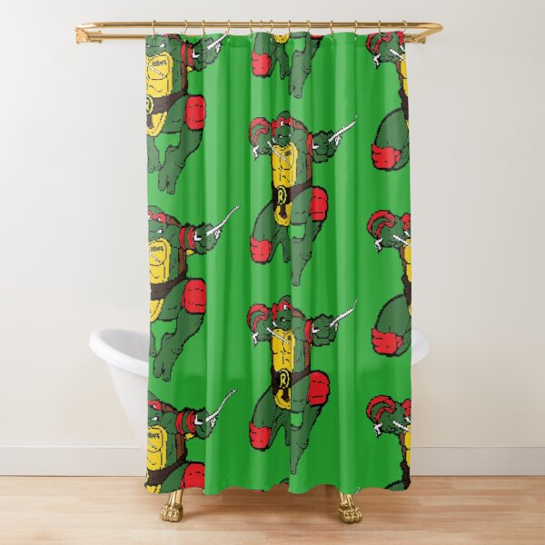 Raph is Rude, But Cool Shower Curtain
