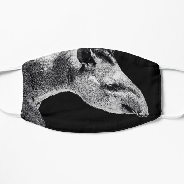 Tapir face mask covering - extraordinary animal / beast  Mask