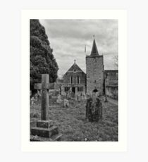St Mary, Easebourne, West Sussex Art Print