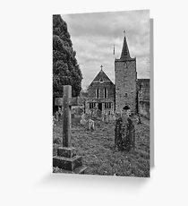St Mary, Easebourne, West Sussex Greeting Card