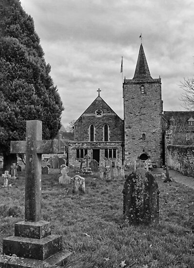 St Mary, Easebourne, West Sussex by Judi Lion