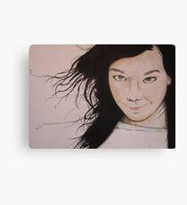 Björk (2011) Canvas Print