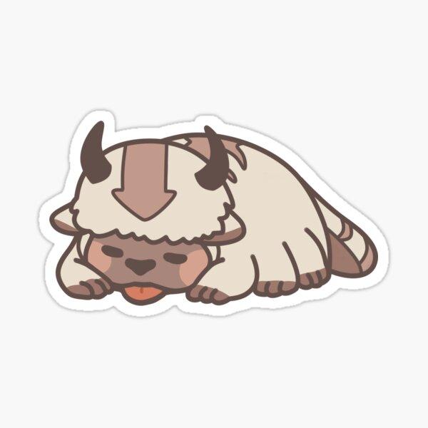 Sleeping Appa Sticker