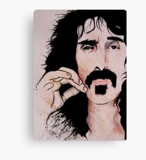 Frank Zappa (2011) - Orignal Sold  Canvas Print