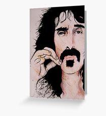 Frank Zappa (2011) - Orignal Sold  Greeting Card