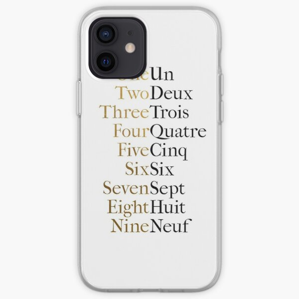 Ten Duel Commandments/Take A Break (Hamilton: An American Musical) iPhone Soft Case