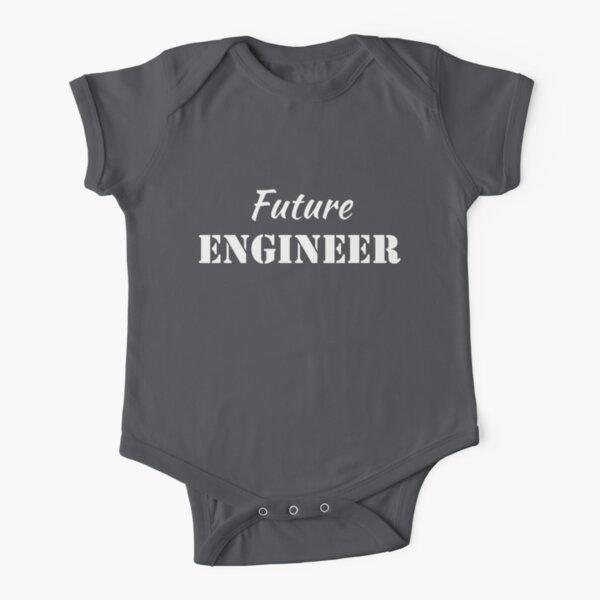 Future Engineer Short Sleeve Baby One-Piece