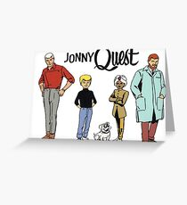 Johnny Quest Greeting Card