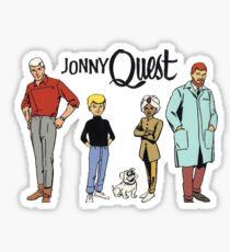 Johnny Quest Sticker