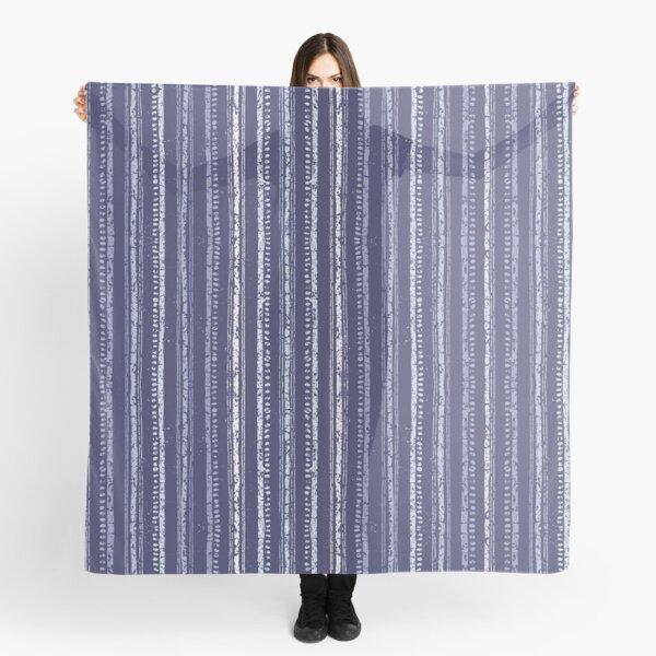 Indigo Batik Stripe Scarf