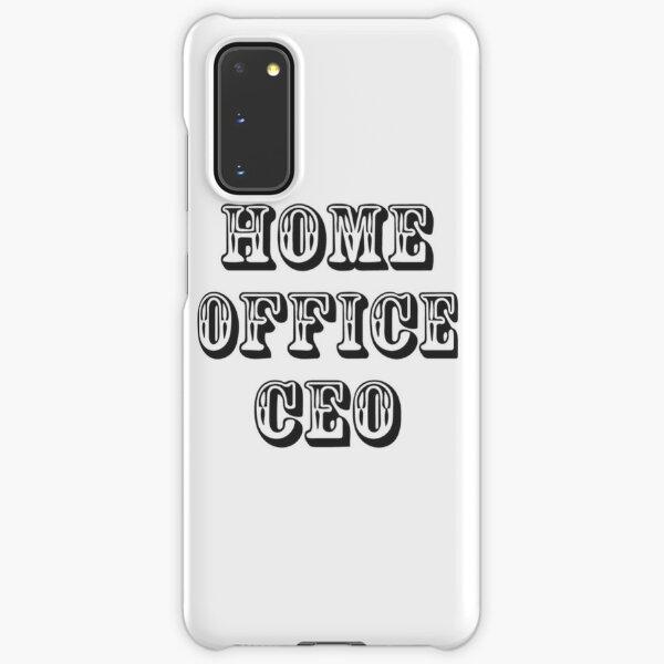Home office CEO Samsung Galaxy Snap Case