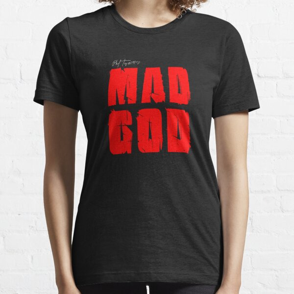 MAD GOD SIGNATURE LOGO IN ORPHANBLOOD Essential T-Shirt