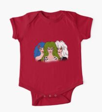 Jem and the Holograms - The Misfits - Group Color One Piece - Short Sleeve