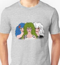 Jem and the Holograms - The Misfits - Group Color Unisex T-Shirt