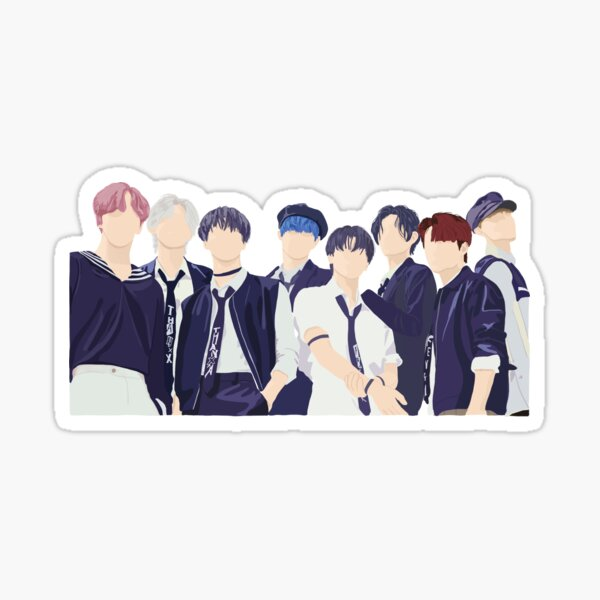 ATEEZ - Inception Sticker