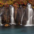lava falls by JorunnSjofn Gudlaugsdottir