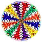 Oh Tannenbaum Mandala Print by TheMandalaLady